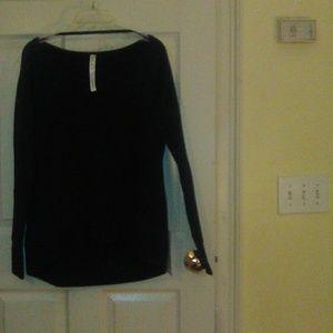 NWT Lululemon Meditate Pullover 8 black